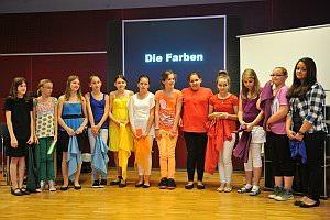 NMS Rosental Eisenstadt macht 'Malen mit Musik', 12.06.2013