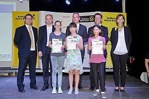 Siegerehrung Raika Malwettbewerb in Eisenstadt, 22.06.2015
