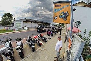 Bikerausfahrt der Biker4Kids, 09.08.2014