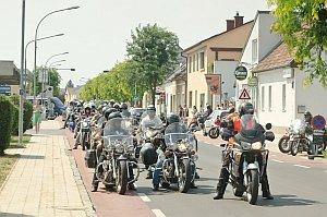 Bikerausfahrt der Biker4Kids, 08.08.2015