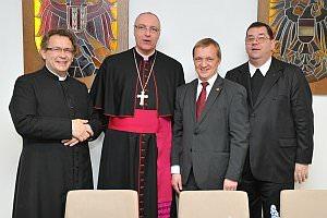 Visitation von Diözesanbischof Dr. Ägidius Zsifkovics in Neufeld, 23.03.2013