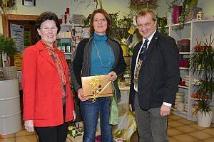 Eröffnung Blumenzeiten von Eva Stanek, 01.03.2013