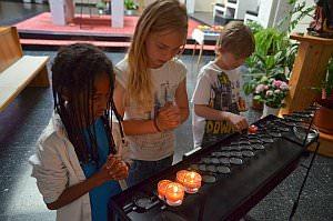 Kirchenführung für Erstkommunionskinder, 03.05.2013