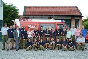 Empfang für die FF Jugend, 06.07.2013