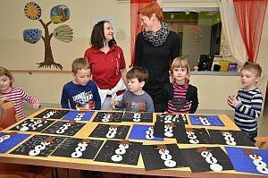 Kindergarten 3. Gruppe im Neufelder Pflegeheim, 28.02.2013