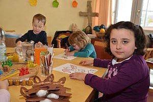 Kindergarten 5. Gruppe im Neufelder Pflegeheim, 08.03.2013