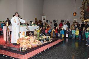 Erntedankfest im Kindergarten Neufeld, 04.10.2013