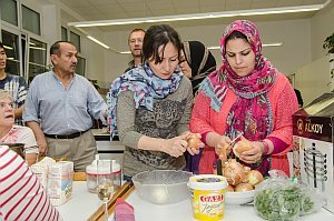 Afghanischer Kochabend in Neufeld, 25.10.2016