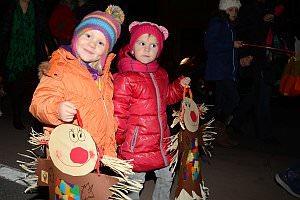 Laternenfest im Kindergarten Neufeld, 08.11.2013