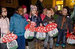 Laternenfest im Kindergarten Neufeld, 07.11.2014