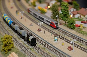 Eisenbahnausstellung Modellbau Spur N, 11. - 13.12.2015