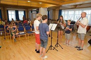 Konzert in der Musikschule Neufeld, 01.07.2015