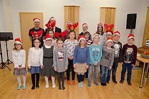 Weihnachtsstunde in der Musikschule Neufeld, 21.12.2015