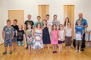 Konzert in der Musikschule Neufeld, 29.06.2016