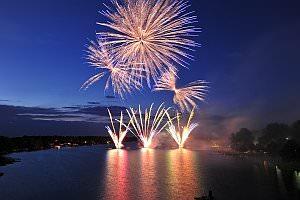 Nacht der Feuerwerke am Neufelder See, 25.05.2013