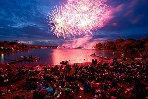 Nacht der Feuerwerke am Neufelder See, 31.05.2014