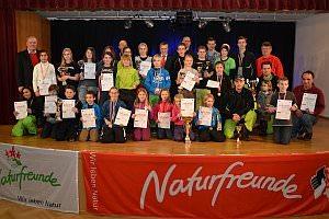 Naturfreunde Landesmeisterschaft Siegerehrung, 03.02.2013