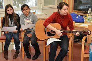 NMS singt im Neufelder Pflegeheim, 15.01.2013
