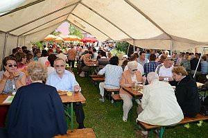 Pfarrhoffest in Neufeld, 09.06.2013
