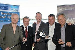 Pressekonferenz 1. Neufelder Golf Open, 27.06.2014
