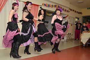 Faschingsfest im Neufelder Pflegeheim, 08.02.2013