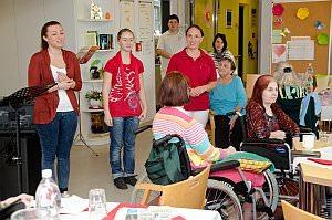 Muttertagsfeier im Pflegekompetenzzentrum Neufeld, 09.05.2014