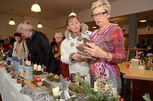 Weihnachtsbasar im Pflegekompetenzzentrum, 29.11.2013