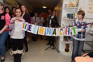 Weihnachtsfeier im Pflegeheim Neufeld, 18.12.2013