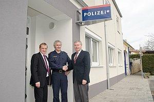 LT-Präsident Steier besucht Neufelder Polizei, 17.03.2015