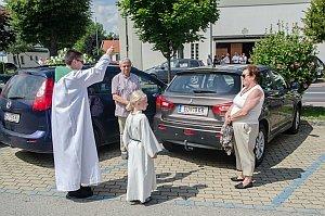 Fahrzeugsegnung in Neufeld, 24.07.2016