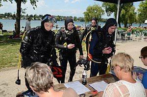 Schatztauchen bei Tauchsport Lorenc am Neufelder See, 09.06.2013