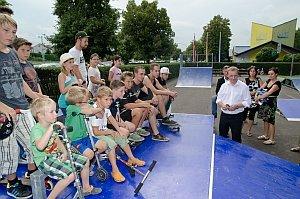 Eröffnung Skateranlage am Neufelder See, 25.07.2014