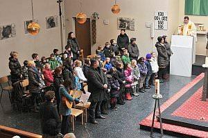 Vorstellungsmesse der Kinder zur Neufelder Erstkommunion, 03.02.2013