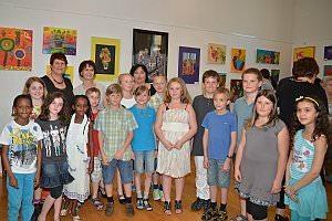 VS Vernissage der 3. Klassen 'Lollipop goes Art, 25.04.2013
