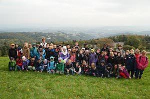 Wandertag der 3. Klassen VS Neufeld nach Forchtenstein, 02.10.2013