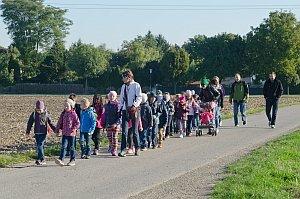 Wandertag der 1. Klassen VS Neufeld nach Zillingdorf/W., 01.10.2015