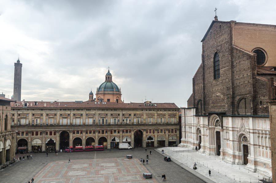 Bologna, im Herzen von Emilia-Romagna
