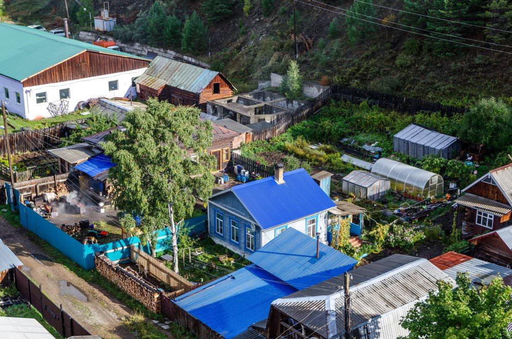 Listwjanka, das Fischerdorf am Baikalsee