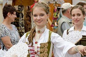 Historisches Kostümfest in Purbach, 23.08.2014